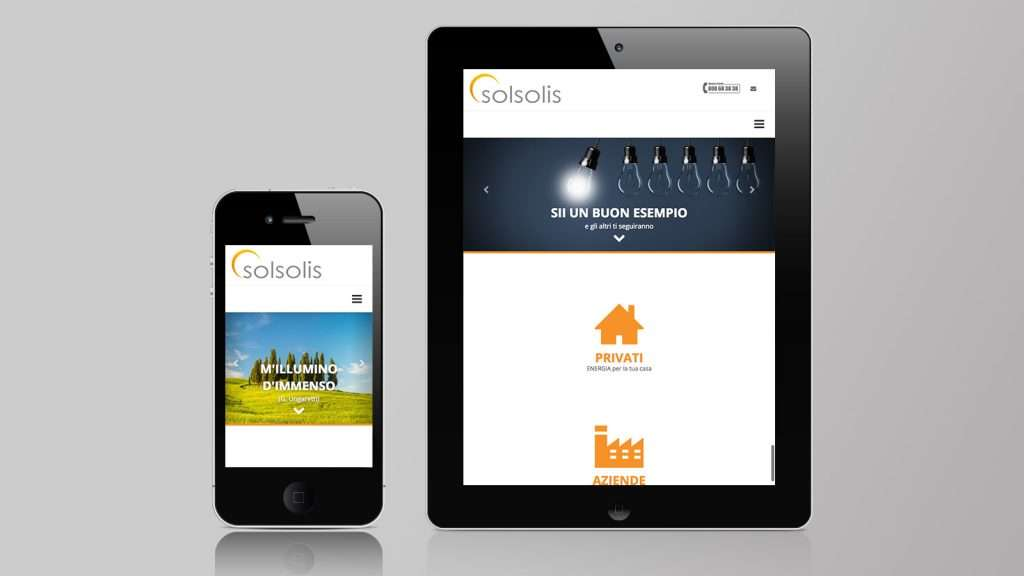 Solsolis Mobile site