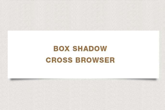 Una guida al box-shadows cross-browser