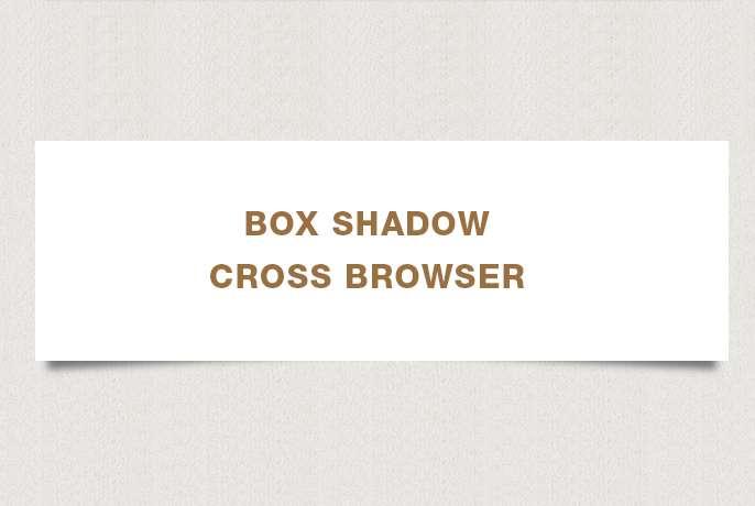 Una guida al box-shadows cross-browser