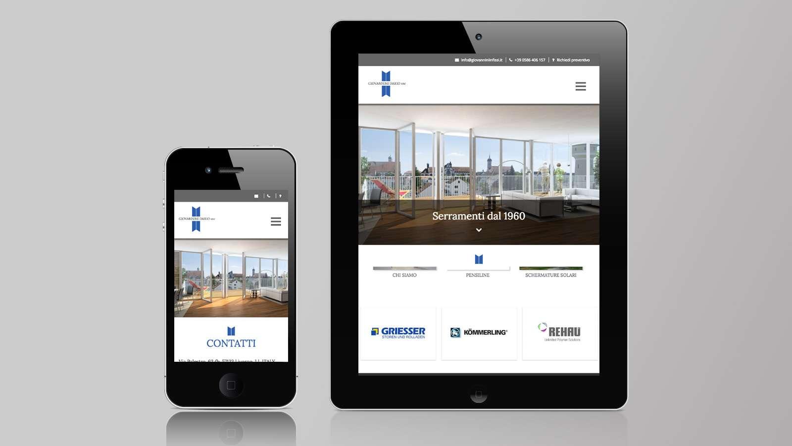 Progettazione Mobile site