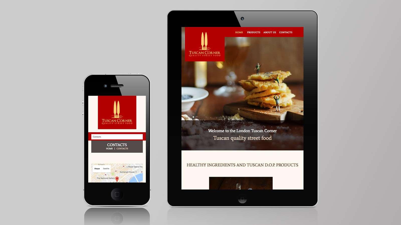 Realizzazione sito mobile