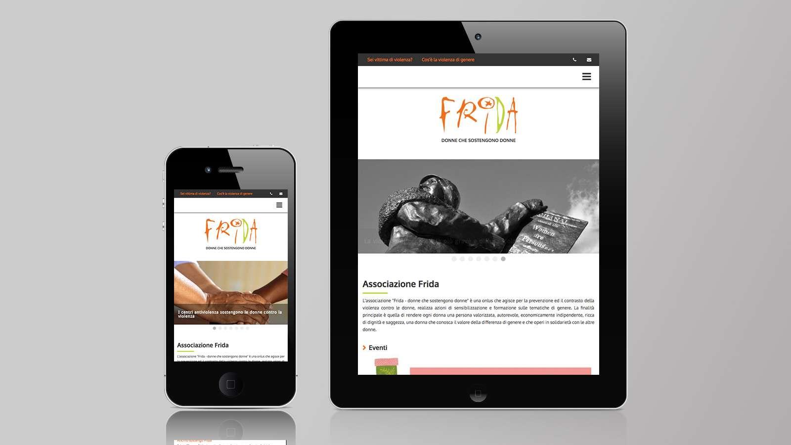 Associazione Frida - Mobile site