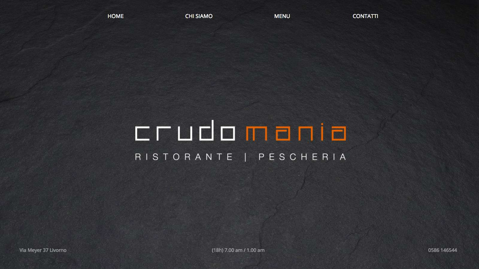 Crudomania - Desktop website