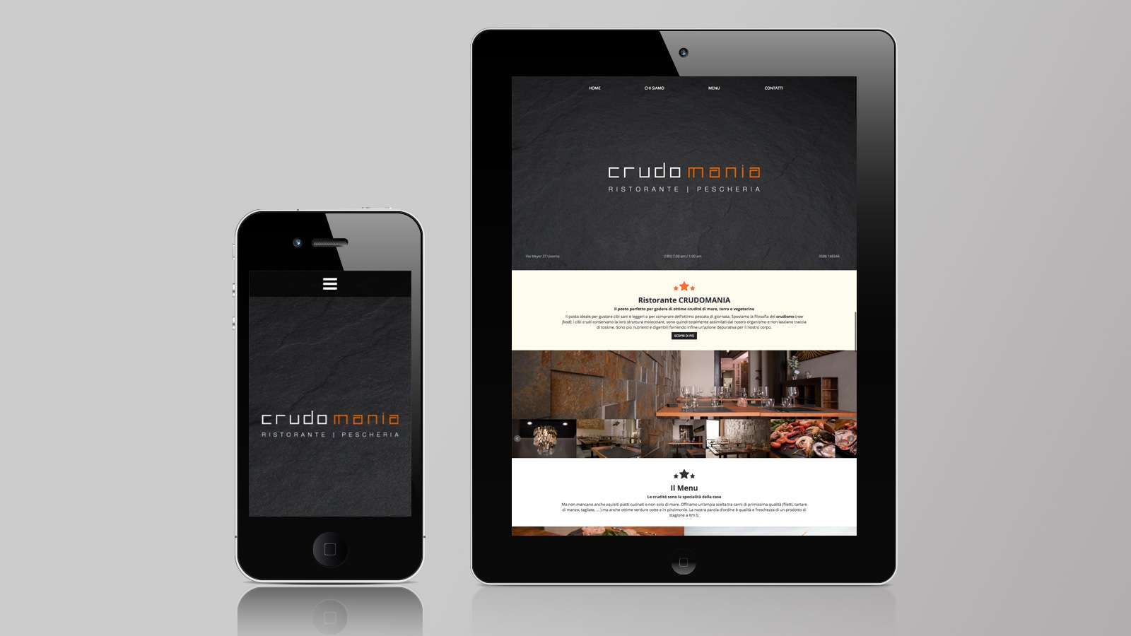Crudomania - Mobile site