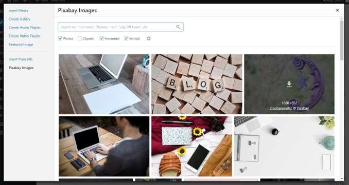 Pixabay WordPress Plugin