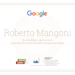 Eccellenze in digitale Certificato