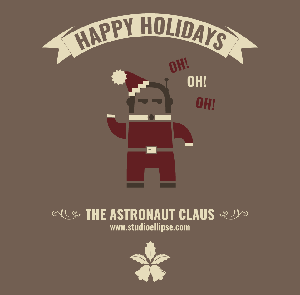 The Astronaut Claus
