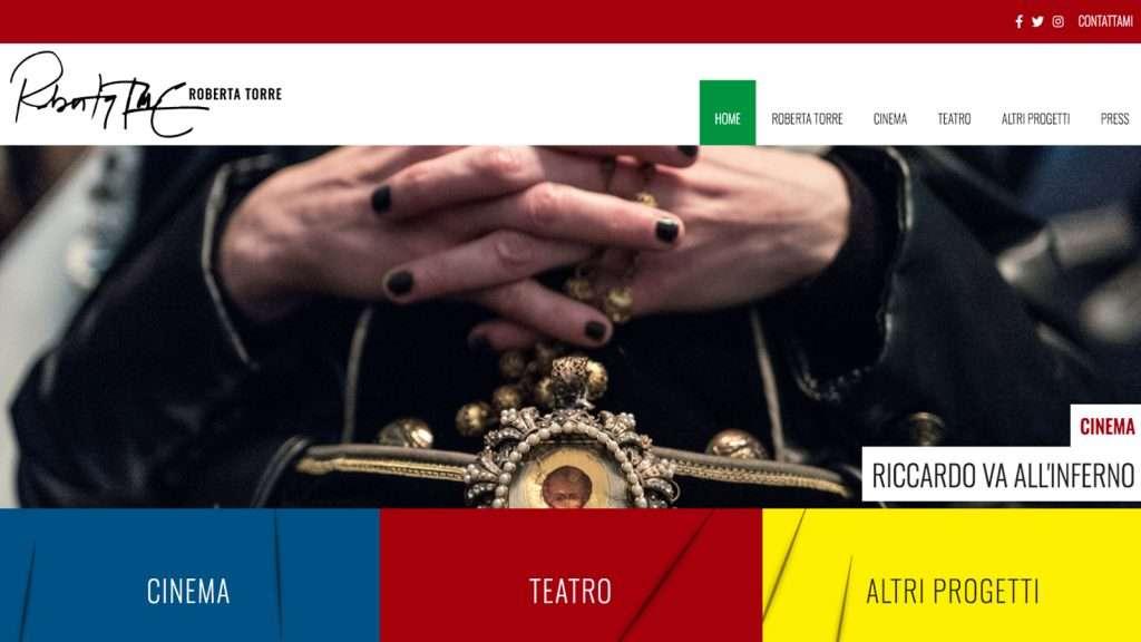 Roberta Torre Desktop Site