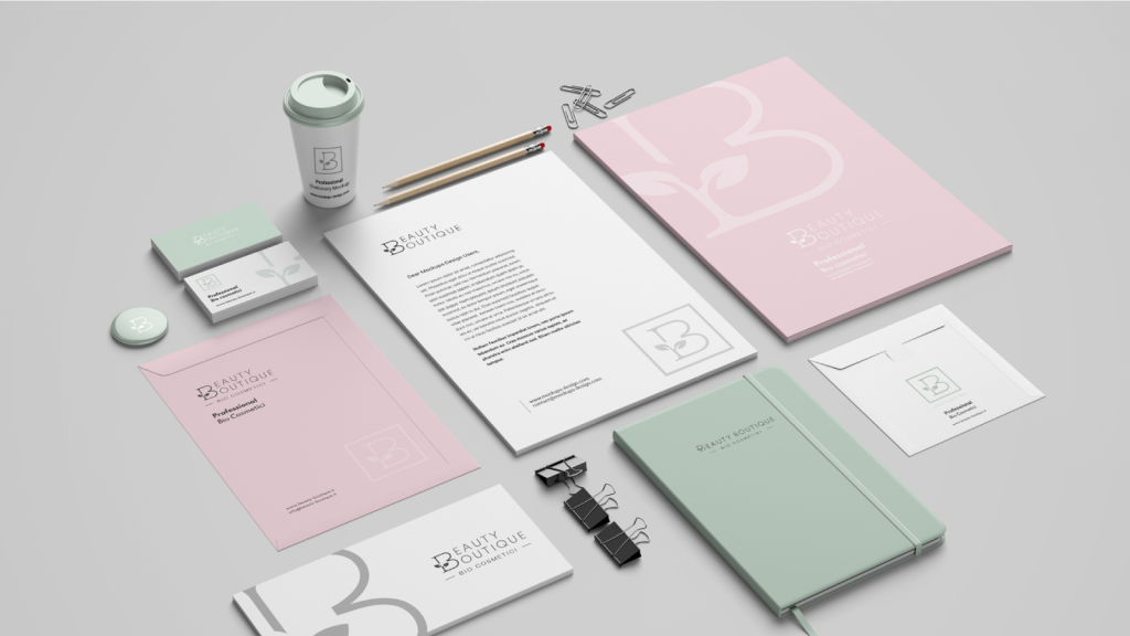 Boutique de Beauté - Corporate Identity